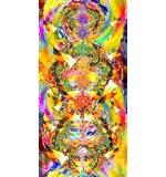 stora toalla MyHappyYoga s 80x160cm microfibra