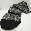 calcetines peu-Fort blanco&negro talla L (41-44)