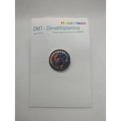 pin 25mm DMT - Dimetiltriptamina